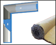 Gypsum Dryer Door Seals